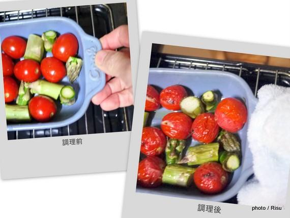 フェリシモ耐熱プレートを使って料理