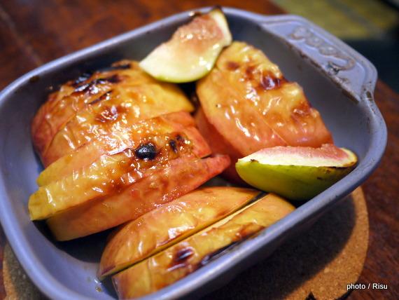 焼きフルーツ-フェリシモ耐熱プレート