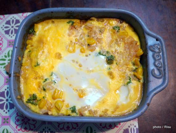 薄焼き卵が上手に焼けるオムライス-フェリシモ耐熱プレート