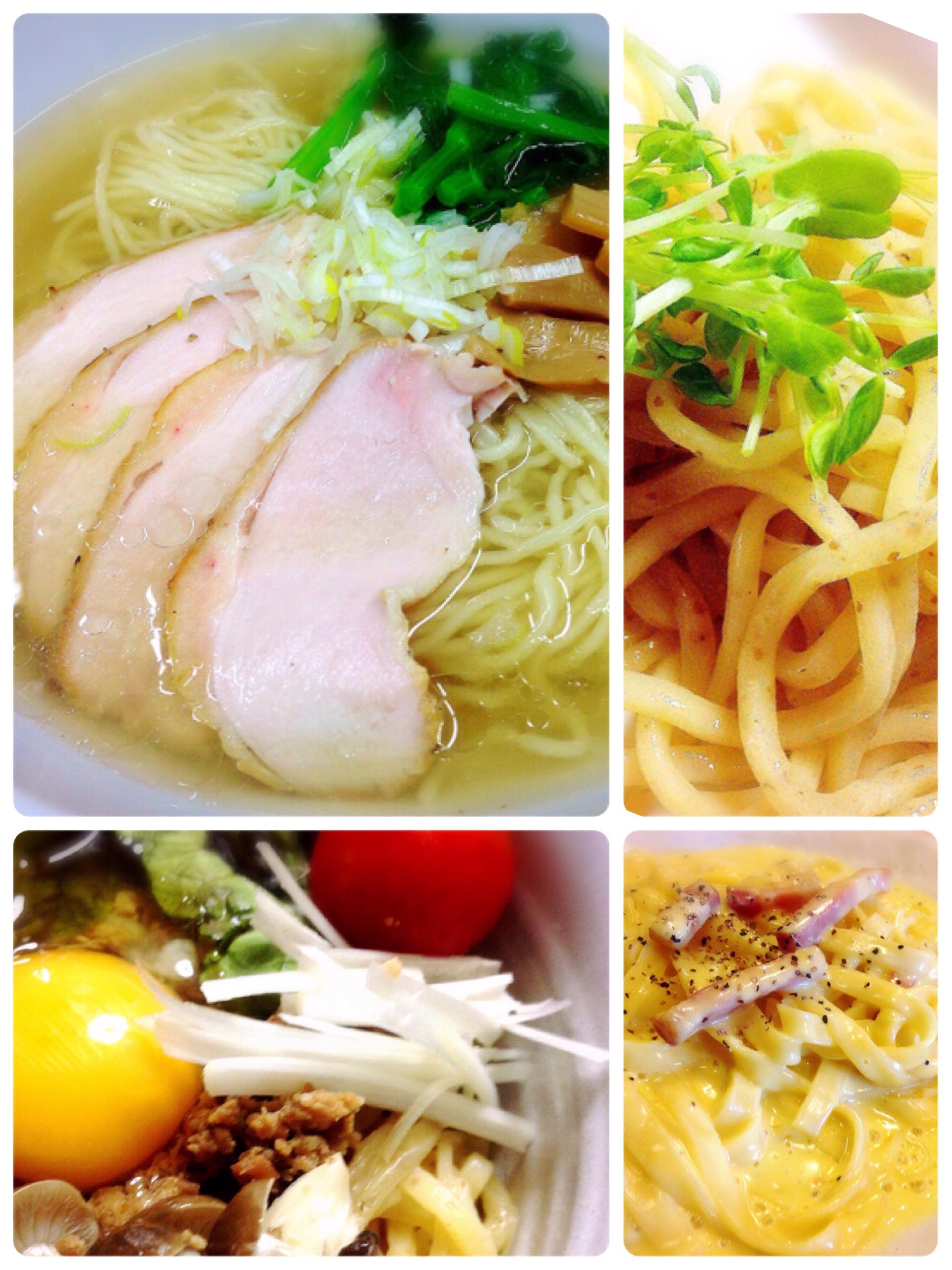 製麺技能士謹製麺調理例