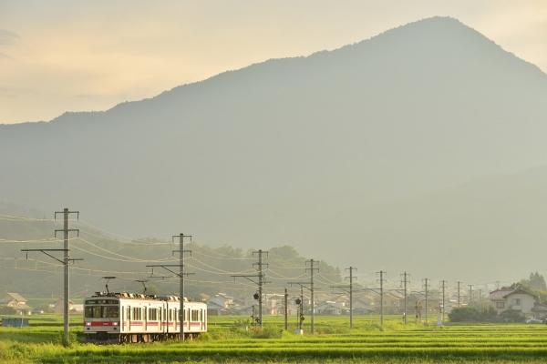 2015年8月7日 上田電鉄別所線 八木沢~舞田 1000系1001編成