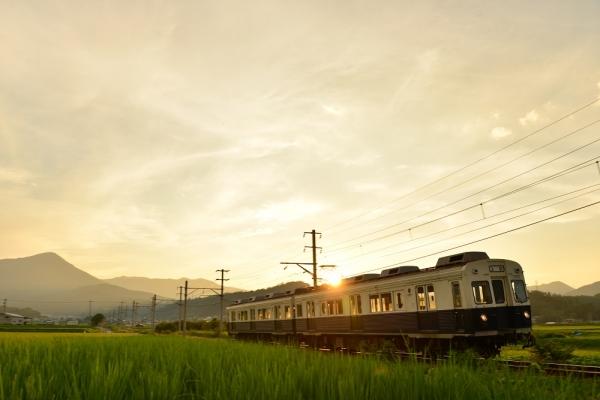 2015年8月7日 上田電鉄別所線 舞田~中野 7200系7255編成