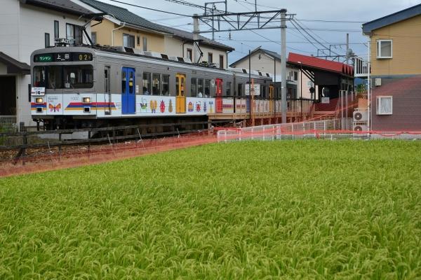 2015年8月25日 上田電鉄別所線 三好町~城下 1000系1002編成