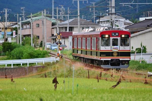 2015年8月25日 上田電鉄別所線 三好町~赤坂上 6000系6001編成