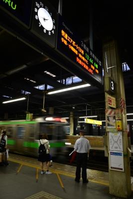 2015年9月4日 JR北海道函館本線 札幌 721系