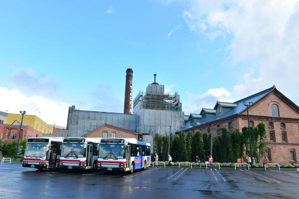 2015年9月4日 北海道中央バス サッポロビール博物館
