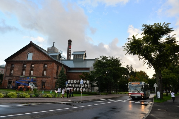 2015年9月4日 北海道中央バスサッポロビール園アリオ線 サッポロビール博物館