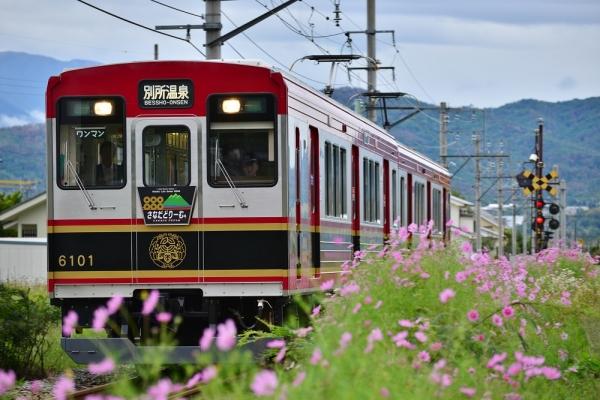 2015年9月17日 上田電鉄別所線 中野~舞田 6000系6001編成