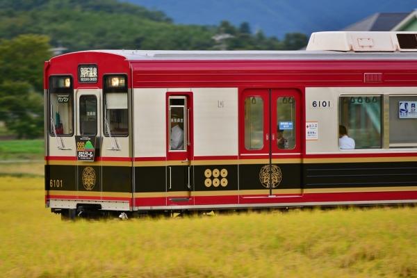 2015年9月18日 上田電鉄別所線 舞田~八木沢 6000系6001編成