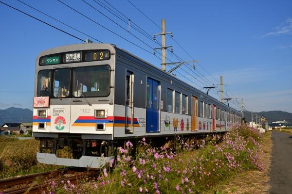2015年10月4日 上田電鉄別所線 中野~舞田 1000系1002編成