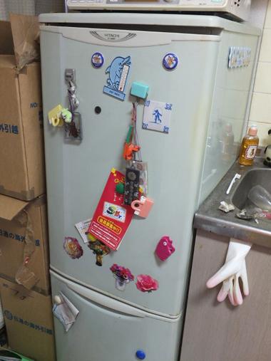 2日立左開き冷蔵庫