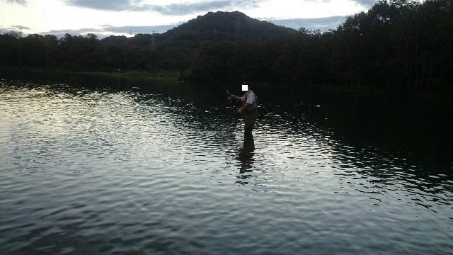 湖上のオレ