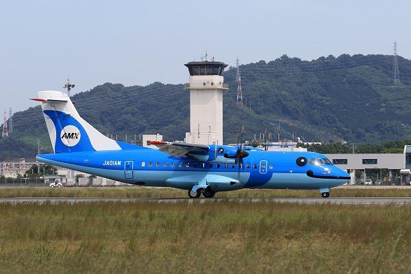 AMX ATR-42-600 JA01AM RJOM 150922 01
