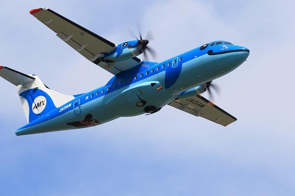 AMX ATR-42-600 JA01AM RJOM 150922 06