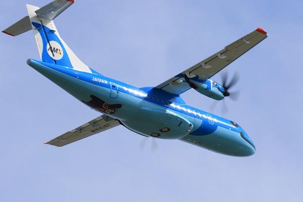 AMX ATR-42-600 JA01AM RJOM 150922 07