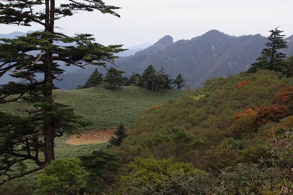 瓶ヶ森林道紅葉・神明池 151010 02
