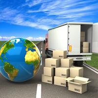 地球とトラック
