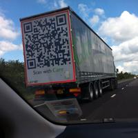 QRコードトラック