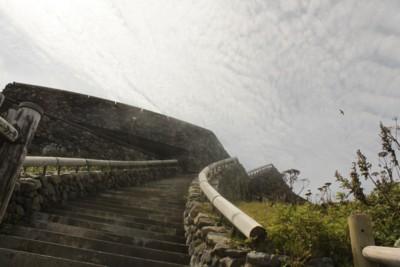えりも岬 階段