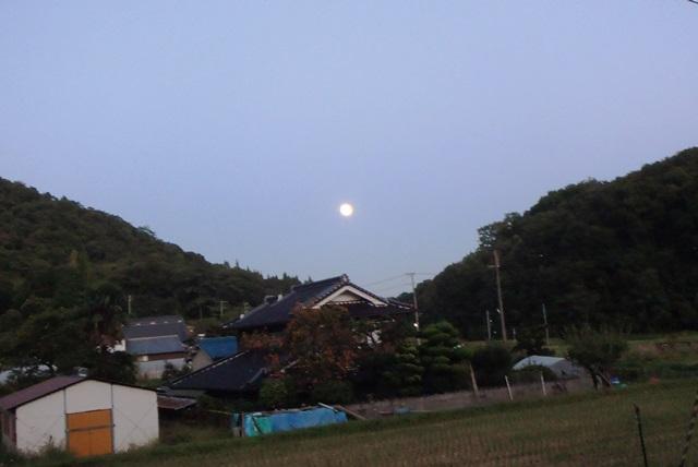 月見る月の月20150927