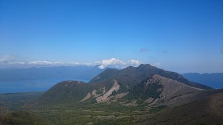 風不死岳と932峰