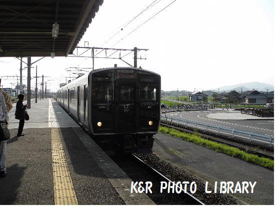 3月21日吉野ヶ里公園駅普通電車