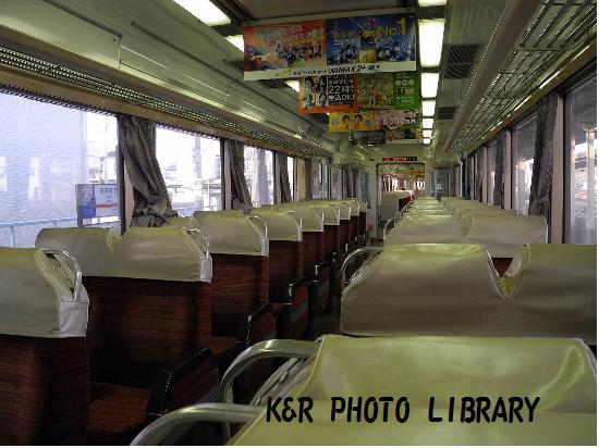 3月21日西鉄特急車内
