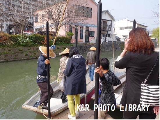3月22日川下り乗船場5