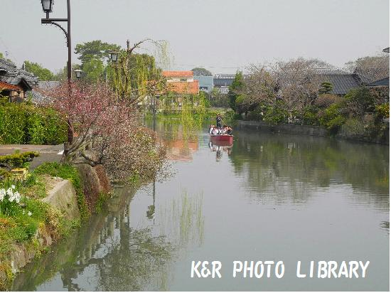 3月22日川下り船1