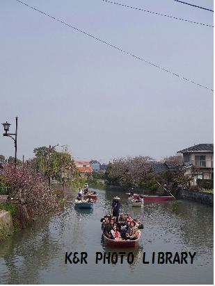 3月22日川下り船2