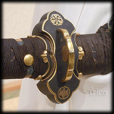 福岡一文字の分銅鍔