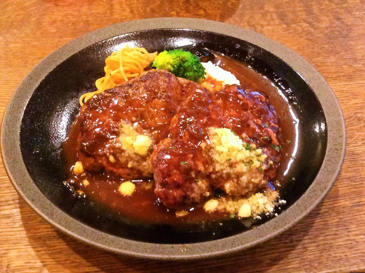 俺のハンバーグ山本渋谷食堂(ダブル)