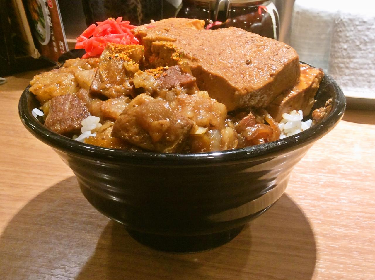 新橋肉めし岡むら屋(料理)