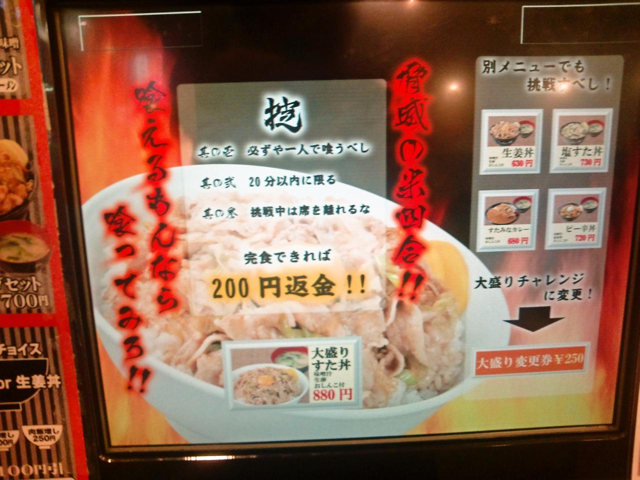 伝説のすた丼屋蒲田店(店舗外観)
