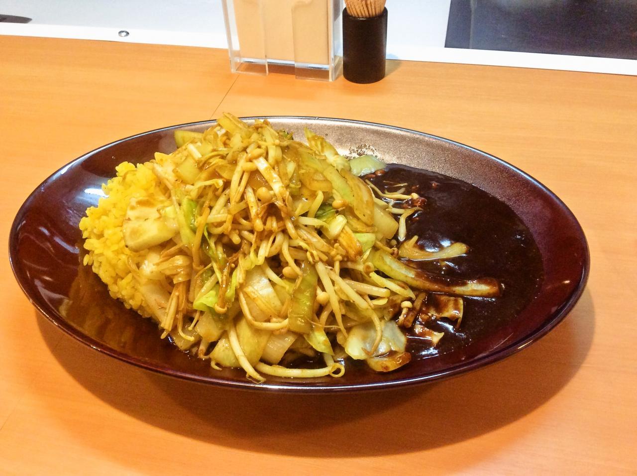 みぼうじんカレー(料理)
