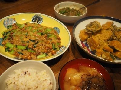 7もちアワナメコの夕食_R
