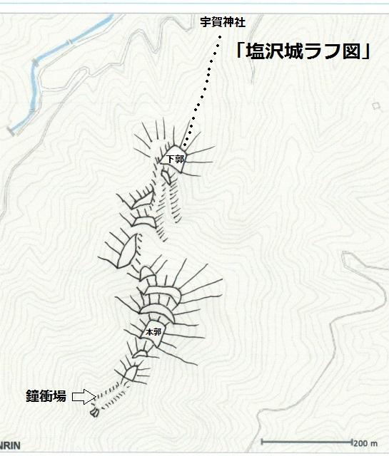 塩沢城ラフ