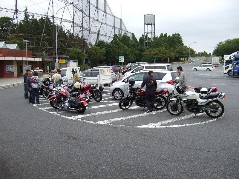 谷田部東PA 集合