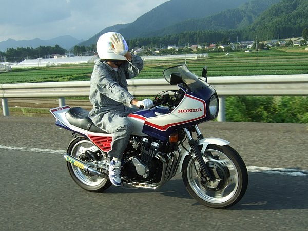 ミッチャン CBX550F