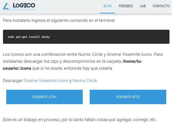 Xosemite Ubuntu Xfce テーマ ダウンロード