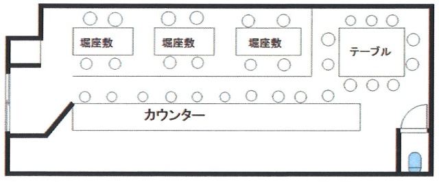 天神橋1丁目店舗図面