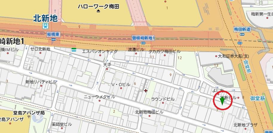 新日本新地ビル東館地図
