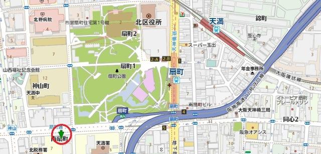 上海明月地図