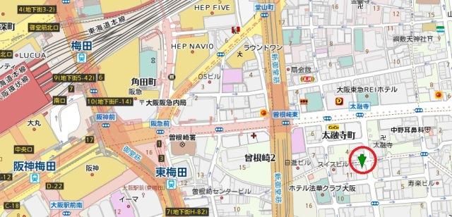 浪速ビル地図