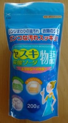 セスキ炭酸ソーダ物語 (200g) 108 円
