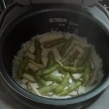 炊き上がりました。