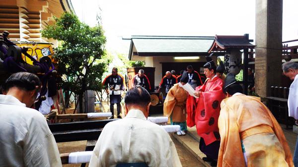 諏訪神社の御神幸大祭祝詞