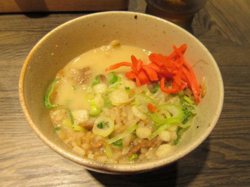 豚め豚骨スープ漬け飯