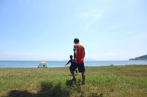 2015 夏休み 浜