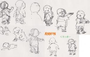 Annonクロッキー